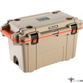 PELICAN COOLER IM 70 QUART ELITE TAN/ORANGE