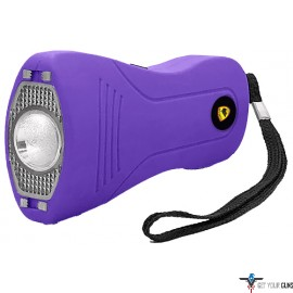 GUARD DOG VICE SLIM STUN GUN W/ LED LIGHT RECHARGEABLE PURP
