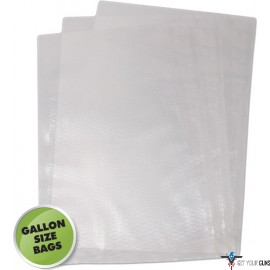 "WESTON 11""X16"" (GALLON) VAC SEALER BAGS 100 COUNT"