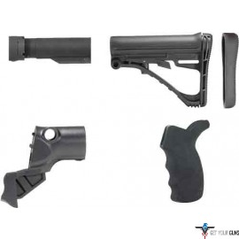 TACSTAR COLLAPSABLE STOCK KIT MOSSBERG 500 12GA. BLACK POLY