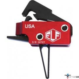 ELFTMANN TRIGGER AR-10 MATCH STRAIGHT ADJUSTABLE 2.75-4LBS.