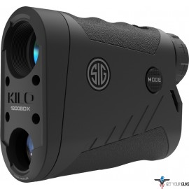 SIG OPTICS LASER RANGEFINDER KILO 1800BDX 6X22 BLACK