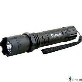 GUARD DOG DIABLO STUN GUN W/ 3 TAC LIGHT 4.5 MILLION VOLTS BL