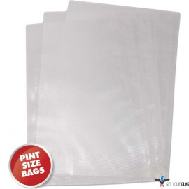 "WESTON 6""X10"" (PINT) VAC SEALER BAGS 42 COUNT"