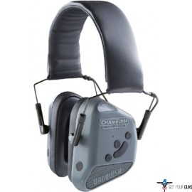 CHAMPION ELECTRONIC NONOSLIM BLUE TOOTH EAR MUFFS 26DB GREY