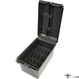 MTM TACTICAL MAGAZINE CAN BLACK HOLDS AR-15/DS HANDGUN