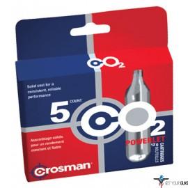 CROSMAN CO2 POWERLETS- CASE OF 12 BOXES OF 5 EACH