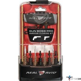 REAL AVID GUN BOSS PRO HANDGUN CLEANING KIT 15-PIECE