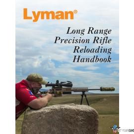 LYMAN RELOADING HANDBOOK LONG RANGE PRECISION RIFLE 132-PGS.