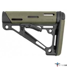 HOGUE AR-15 COLLAPSIBLE STOCK OD GREEN RUBBER MIL-SPEC