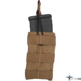TAC SHIELD BELT POUCH SINGLE SPEED LOAD AR-15 COYOTE