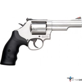 """S&W 69 .44MAG 2.75"""" ADJ 5-SHOT STAINLESS RUBBER"""
