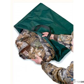 "HS TRAVEL BAG DELUXE SCENT SAFE 34""X25"" GREEN"