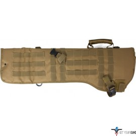 RED ROCK MOLLE RIFLE SCABBARD COYOTE TAN