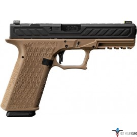GREY GHOST PREC COMBAT PISTOL STRIPPED FULL SIZE FRAME FDE