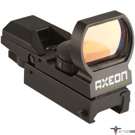 AXEON REFLEX SIGHT W/4 RED OR GREEN CHANGABLE RETICLES