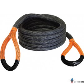 "BUBBA ROPE SIDEWINDER 5/8""X20' UTV POWER STRETCH RP ORNG EYES"