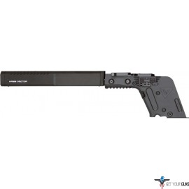"KRISS VECTOR LOWER ASSY 9MM 16"" ENHANCED SHROUD BLACK"