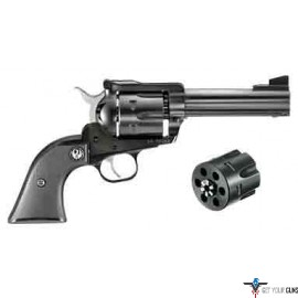 "RUGER BLACKHAWK CONVERTIBLE .357/9MM 4.62"" AS BLUED SYN"