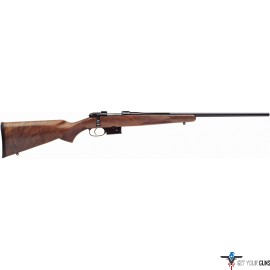"CZ 527 AMERICAN .223 REM. W/1"" SCOPE RINGS WALNUT STOCK"