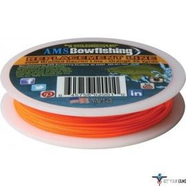 AMS BOWFISHING REPLACEMENT LINE ORANGE #200 25 YARDS