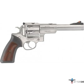 "RUGER SUPER REDHAWK .10MM 7.5"" AS STAINLESS HOGUE TAMER*"