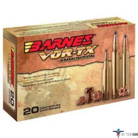 BARNES AMMO VOR-TX .308 WIN 168GR TTSX BT 20-PACK