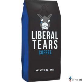 LIBERAL TEARS COFFEE BLACK MEDIUM ROAST 12OZ