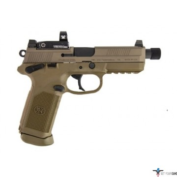 FN FNX-45 TACTICAL .45ACP FDE 2-15RD NS W/VORTEX VENOM